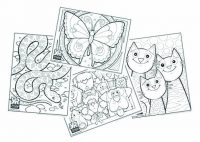 Animals Coloring Pages Bundle