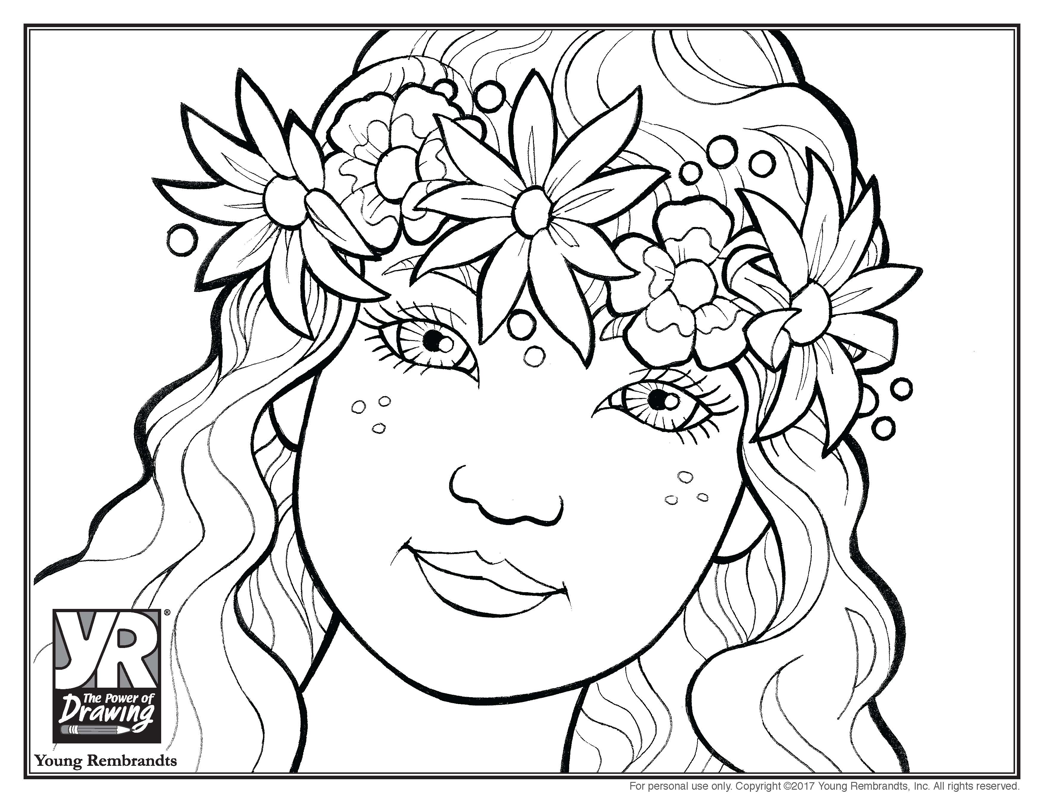 Leila Coloring Page