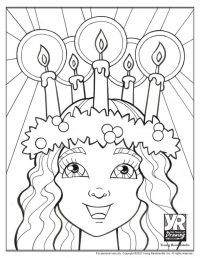 St. Lucia Coloring Page