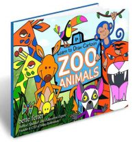 Cartoon Zoo Animals eBook