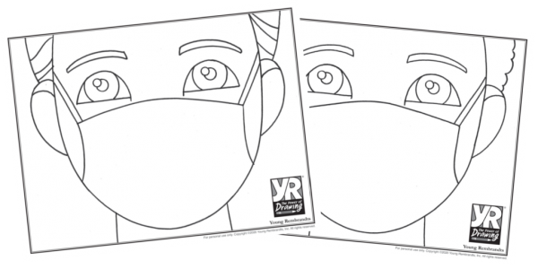 Boys with masks-bundle-BW