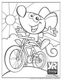 Biking Sketch