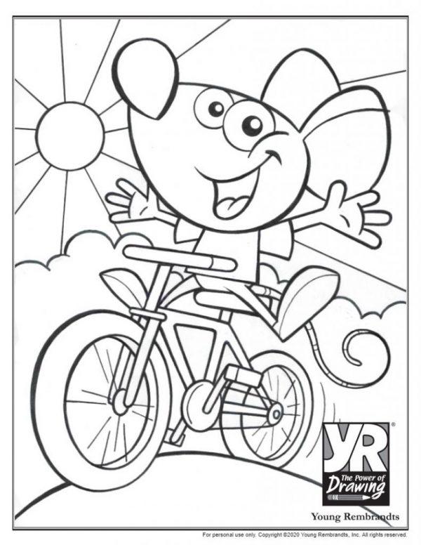 SketchBiking-coloringpage-BW